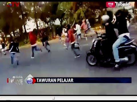 Tawuran di Serpong, Seorang Pelajar Kena Sabetan Celurit - BIM 31/07