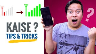 4 dhasu Working Tips & Tricks to Improve Weak Mobile Signal 💡💡