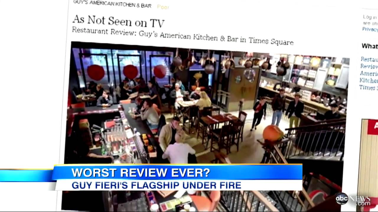 guy fieri s new york times food critic review slams new
