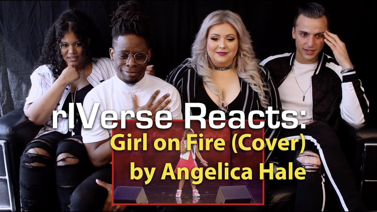 rIVerse Reacts: Girl on Fire (Cover) by Angelica Hale - Golden Buzzer Performance Reaction
