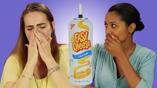French People Try American Cheese