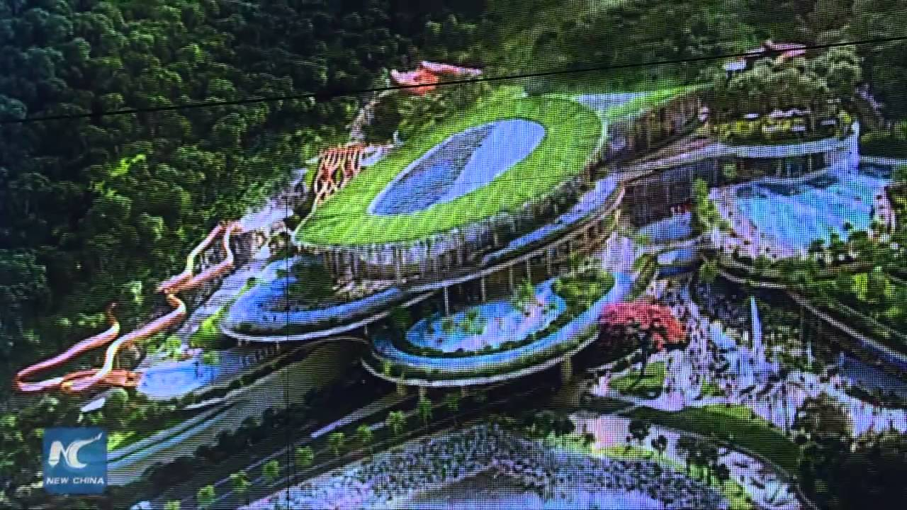 Water World To Be Completed In 2018 Hk Ocean Park Youtube
