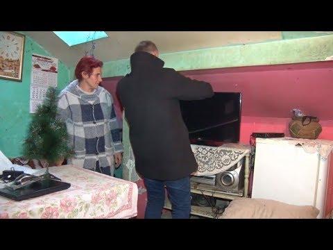 TV5 - Radio San devetočlanoj porodici Đoković iz Sevojna poklonio televizor