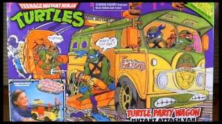 WTMNT - 1988 Classic Collection Party Wagon (Turtle Van)