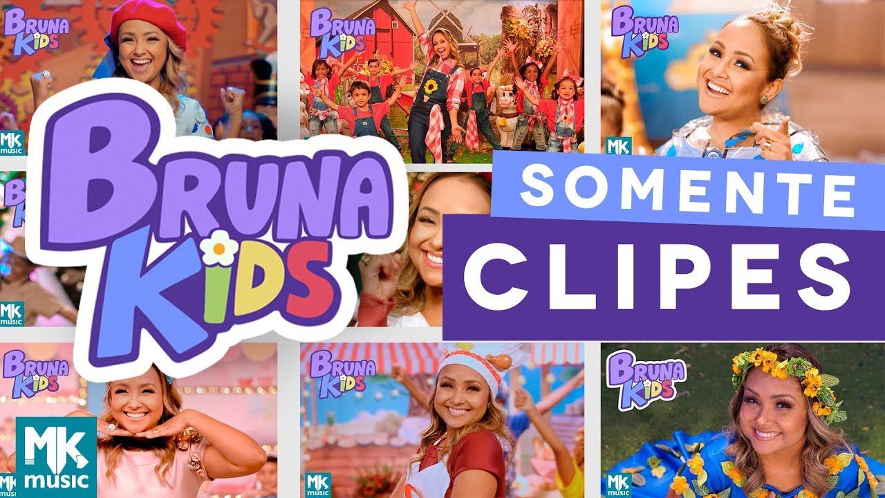 Bruna Kids COMPLETO - Somente CLIPES - Diversão para Crianças - Festa Infantil