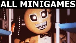 Jolly 3 - All Mini Games (No Commentary) (FNAF Fan Horror Game 2017)