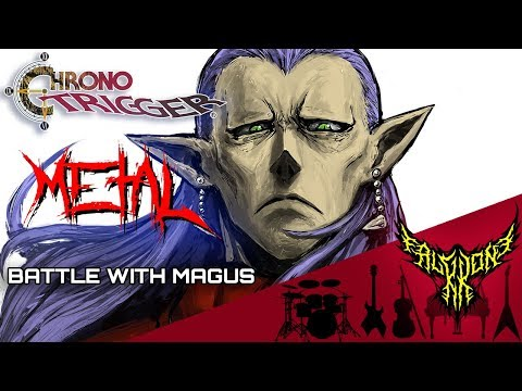 Chrono Trigger - Decisive Battle with Magus 【Intense Symphonic Metal Cover】