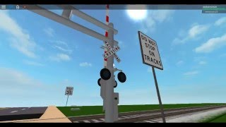 Roblox railfanning, 2 northbound up trains and a crash