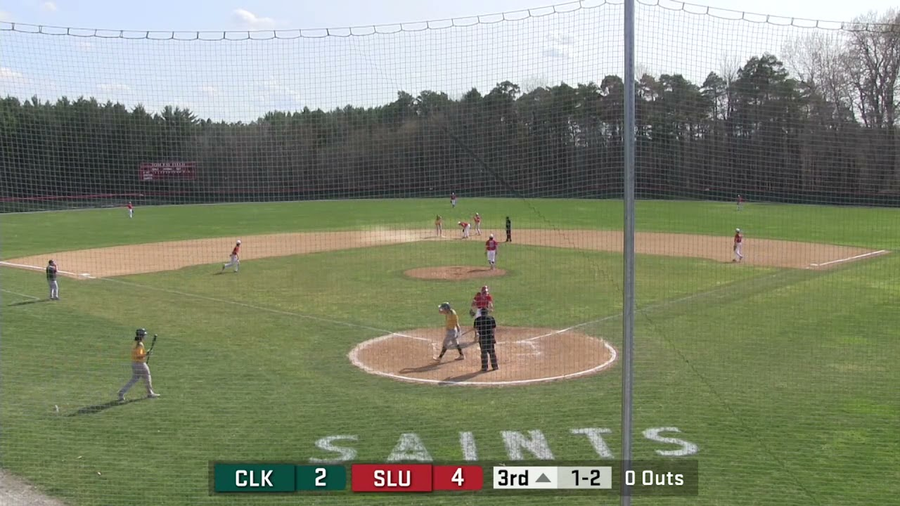 St Lawrence Splits Pair with Clarkson (baseball)