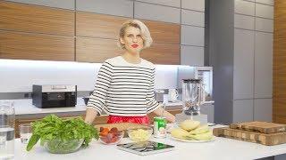 Полина Киценко готовит фитнес-завтрак