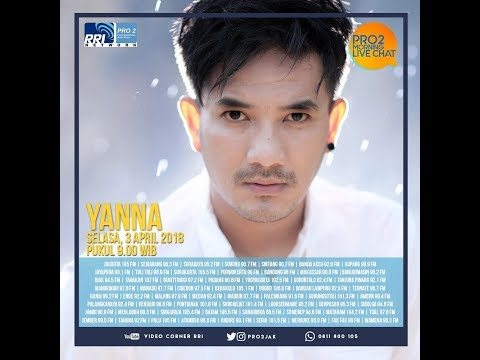Yanna - Morning Live Chat Pro2 FM RRI Jakarta (Live Video Corner RRI)