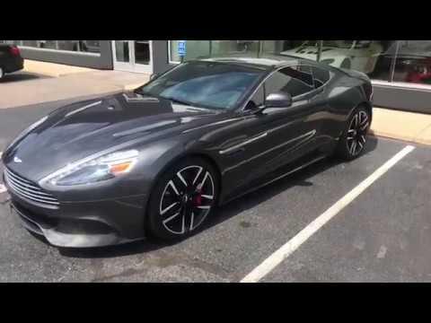2014 Aston Martin Vanquish S1560a Ext Meteorite Silver Int Phantom