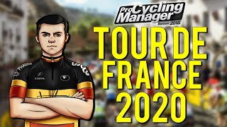 🔴🚴‍♂️ LIVE PCM 18 - Tour de France 2020 en champion de Belgique ! (1/2)
