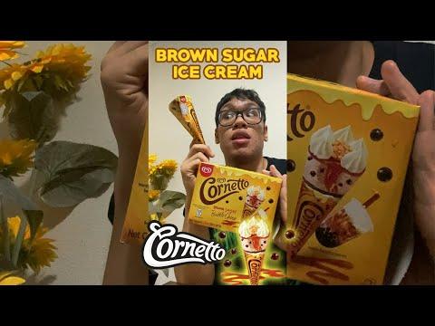 Download BROWN SUGAR BOBA CHEESE ICE-CREAM REVIEW #shorts