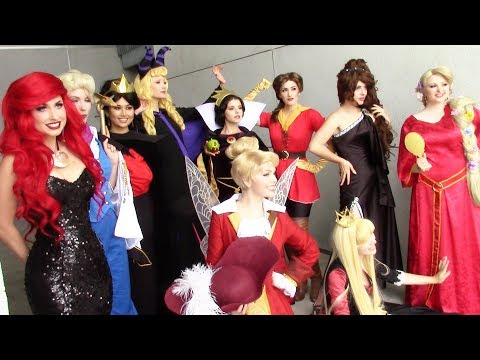 Disney Cosplay + D23 M&G + Jodi Benson! (Voice of Ariel)