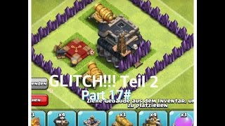 Let´s Play Clash of Clans Part 17# GLITCH Teil 2+Update Talk
