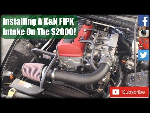 KN Filter Install Tutorial Honda S2000 - YouTube