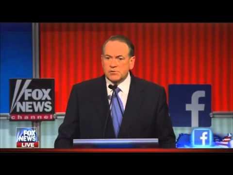 GOP debate: Mike Huckabee pledges to tax pimps