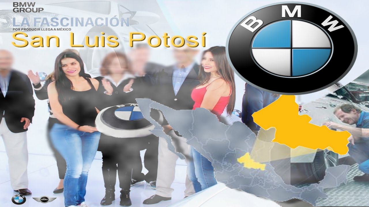 Bmw Llega A M 201 Xico Nueva Planta San Luis Potosi Youtube