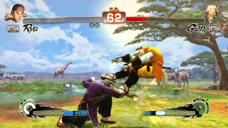 Ultra Street Fighter IV PS4 1080p60 GAMEPLAY