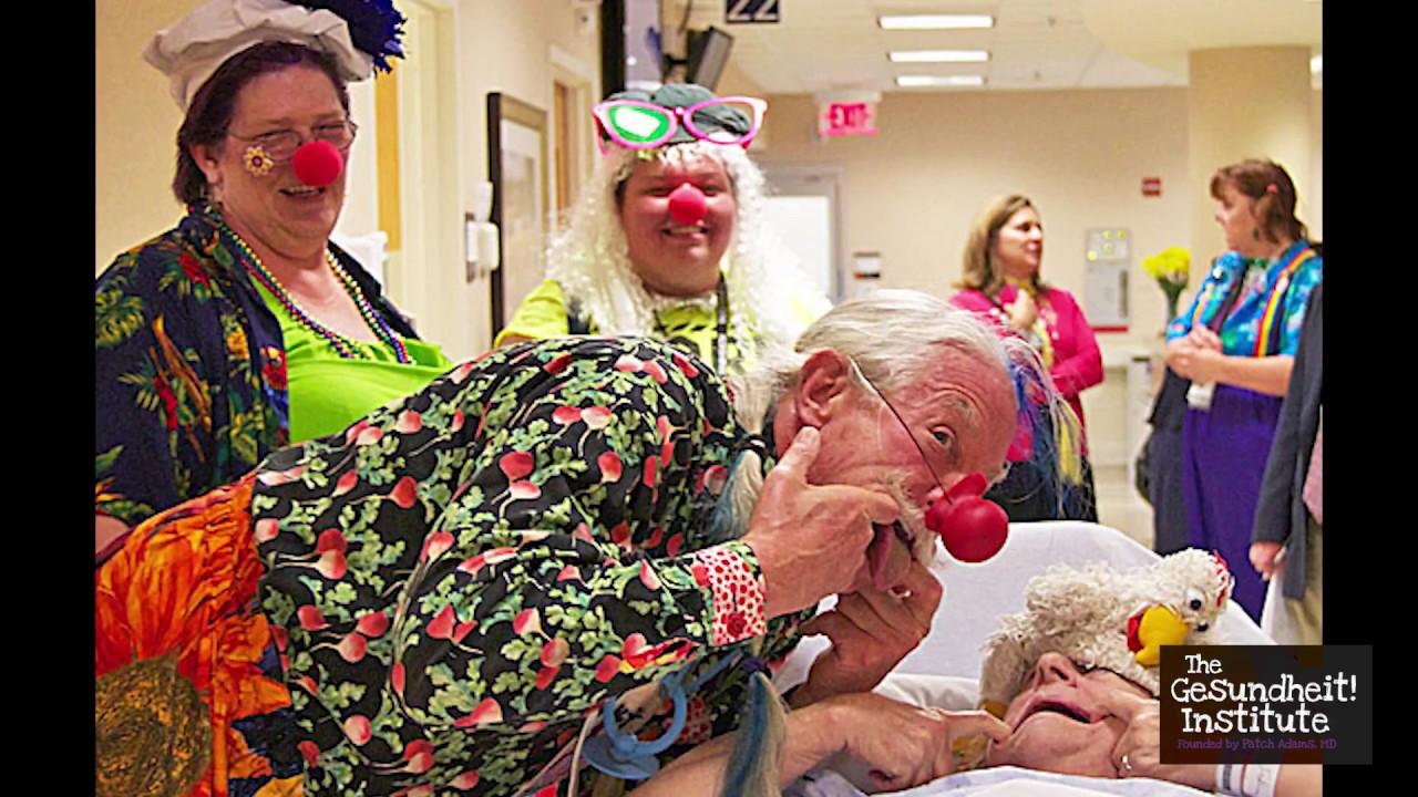 Patch Adams Discusses: Depression and Self-Harm