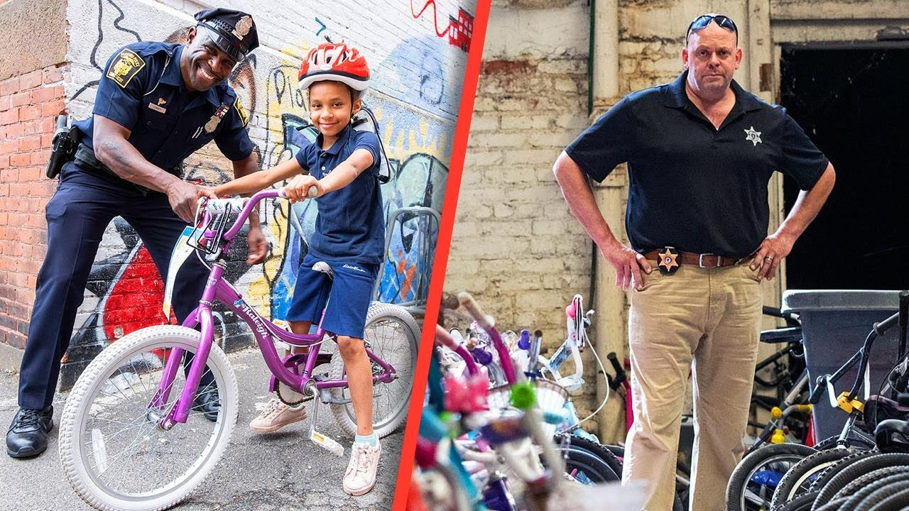 'Bob the Bike Guy' Gives Kids Their First Set of Wheels