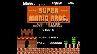 Super Mario Bros. Gold Edition (SMB1 Hack) - Side B