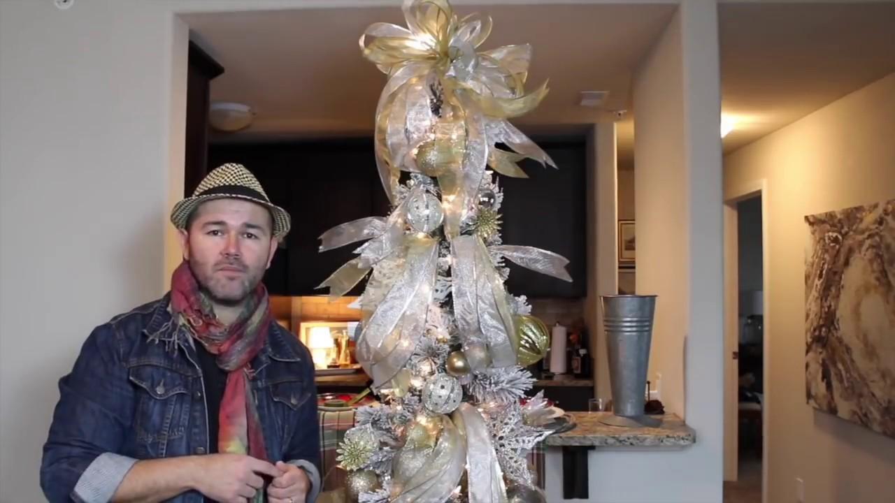 Glam Christmas Tree Tutorial 2018 Dollar Tree Diy