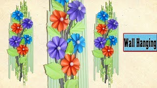 How to Make Wall Hanging Craft -  Wall Hanging Paper Decoration - DIY Home Decoration Ideas