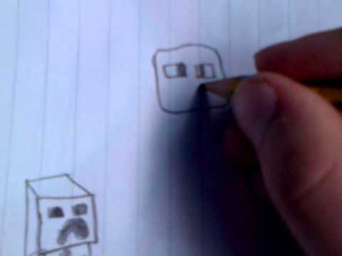 Image of: Ender Dragon How To Draw All Animals In Minecraft Youtube How To Draw All Animals In Minecraft Youtube