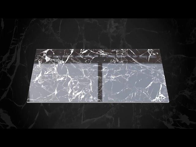 Plazo Black    600x1200mm   Livolla Granito LLP