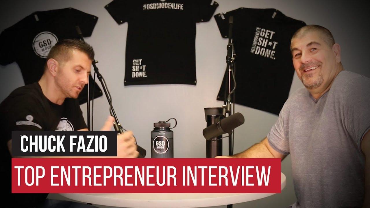 gsd top entrepreneur interview chuck fazio gsd top entrepreneur interview chuck fazio