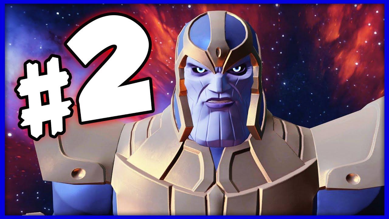 Disney Infinity 3 0 Marvel Battleground Playset Part 2 Thanos