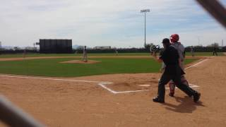 Joe Demers AB- base hit 8-9 gap