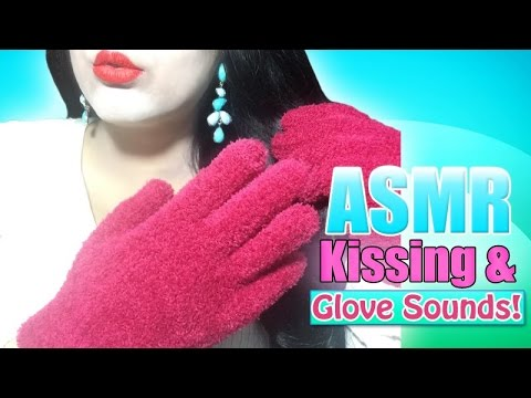 ASMR Kissing and Glove Sounds!