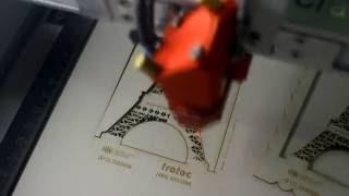 Лазерная резка картона гравером Trotec(Лазерная резка и гравировка выполняется лазерным гравером Trotec. На видео представлен процесс изготовление..., 2016-06-06T07:01:54.000Z)