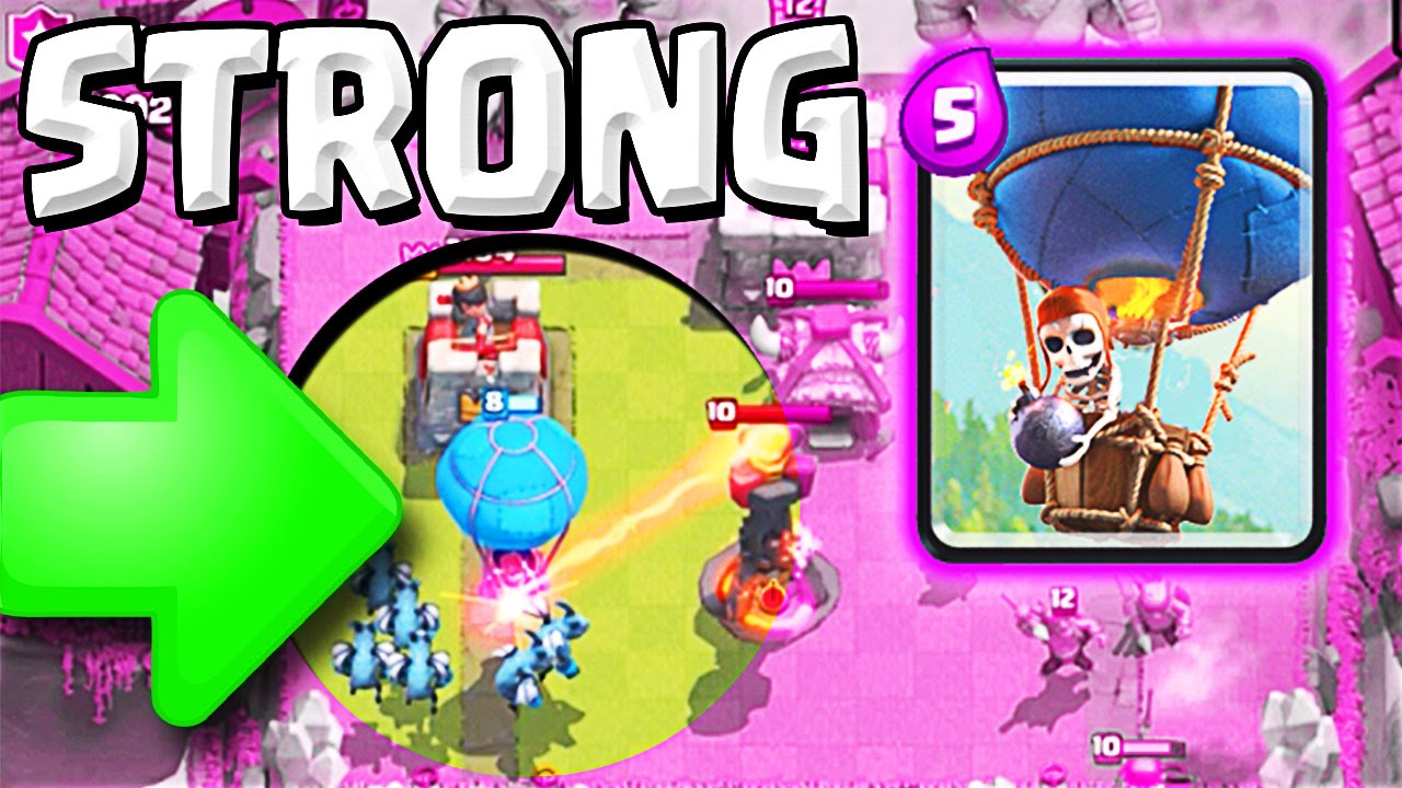 THE LOON IS INSANE :: Clash Royale :: WIN WITH THE BALLOON
