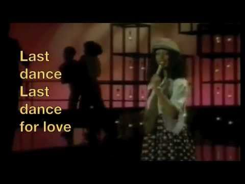 Donna Summer Last Dance Lyrics
