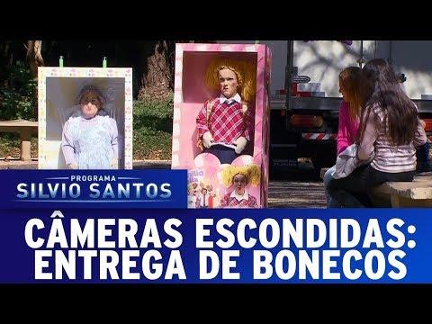 Entrega de Bonecos | Câmeras Escondidas (20/08/17)