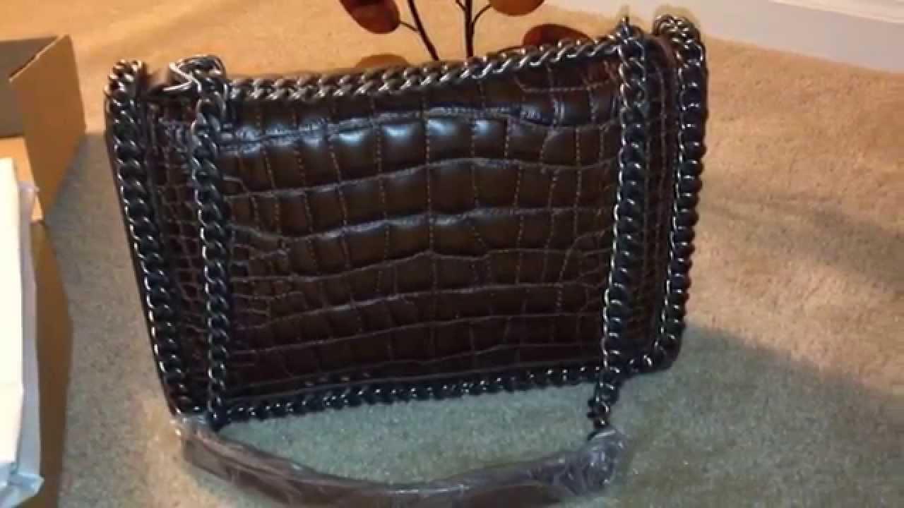 Zara Croc City Chain Bag You