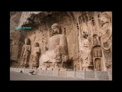 World famous Mogao Caves - The Caves of 1000 Buddhas
