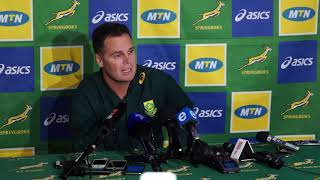 """Schalk Brits has a """"good chance"""" to be in the #Springboks match-day 23 for #England in the 3rd test."""