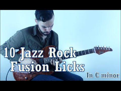 10 Jazz Rock Fusion Licks in C minor