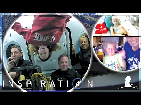 Space Talk with Inspiration4 Crew + St. Jude Patients | St. Jude & Inspiration4