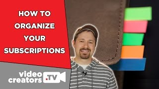 How To Organize YouTube Subscriptions into Lists