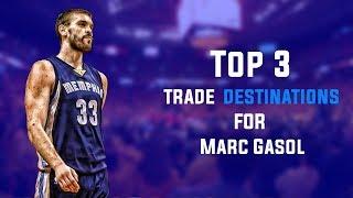 Top 3 Trade Destinations for Marc Gasol