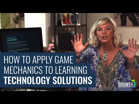 How to Apply Game Mechanics to Learning Technology Solutions