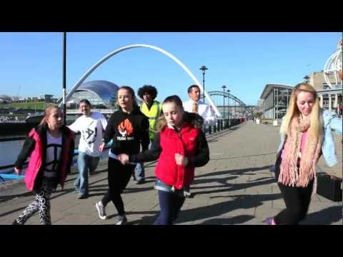 Dancing Devs - Reflections, International Dance Day 2012 and Just Dance 3 (PS3 Move) in Newcastle!