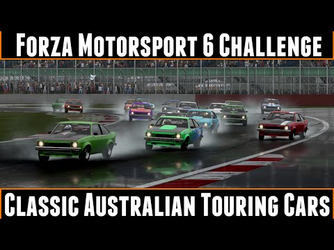 Forza Motorsport 6 Challenge Classic Australian Touring Cars