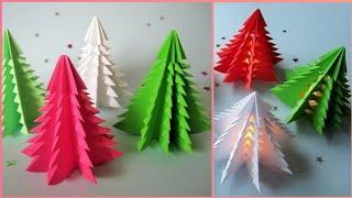 Diy origami paper Christmas tree